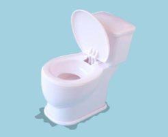 トイレ床の水漏れ